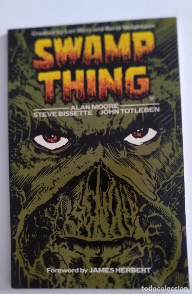 TITAN BOOKS. SWAMP THING VOLUME ONE. ALAN MOORE. 1987 (Tebeos y Comics - Comics Lengua Extranjera - Comics USA)