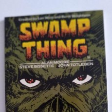 Cómics: TITAN BOOKS. SWAMP THING VOLUME ONE. ALAN MOORE. 1987. Lote 218744960