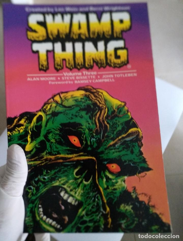 TITAN BOOKS. SWAMP THING VOLUME THREE. ALAN MOORE. 1987 (Tebeos y Comics - Comics Lengua Extranjera - Comics USA)