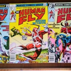 Cómics: THE HUMAN FLY 11, 12 Y 18, MARVEL 1978. Lote 218757676