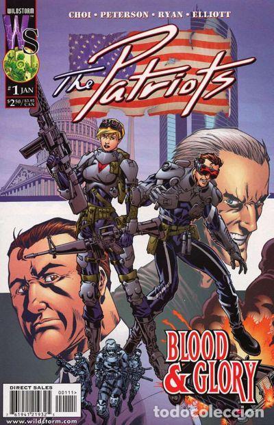 THE PATRIOTS, SERIE LIMITADA COMPLETA DE 10 NÚMEROS, WILDSTORM, 2.000, USA (Tebeos y Comics - Comics Lengua Extranjera - Comics USA)
