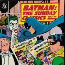 Cómics: BATMAN - THE SUNDAY CLASSICS 1943 1946 - EN INGLES -. Lote 218867583