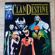 Cómics: THE CLANDESTINE PREVIEW 1994 ED USA EN INGLÉS MARVEL ALAN DAVIS TOTALMENTE NUEVO. Lote 219021948