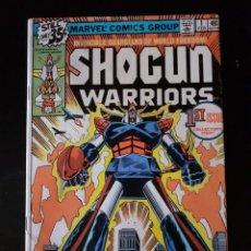 Cómics: SHOGUN WARRIORS VOL.1 N 1.1978. Lote 219038460