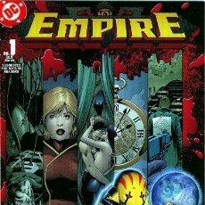 Cómics: EMPIRE, SERIE LIMITADA COMPLETA DE 6 NÚMEROS, DC COMICS, 2.003, USA. Lote 219313610