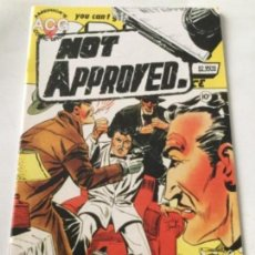 Cómics: NOT APPROVED. Lote 219580530