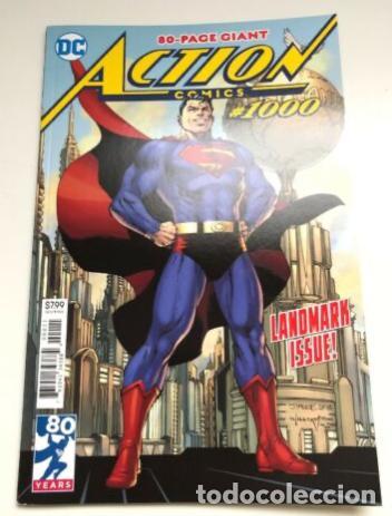 ACTION COMICS #1000 (NM-)`18 (1ST PRINT) DC JIM LEE COVER (Tebeos y Comics - Comics Lengua Extranjera - Comics USA)