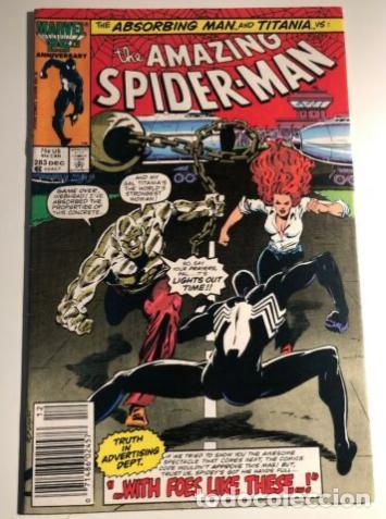AMAZING SPIDER-MAN 283 MARVEL RON FRENZ TOM DEFALCO 1986 (Tebeos y Comics - Comics Lengua Extranjera - Comics USA)