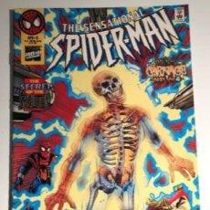 Cómics: SENSATIONAL SPIDER-MAN 3 MARVEL DAN JURGENS 1996 WEB OF CARNAGE 1 OF 4. Lote 220067292