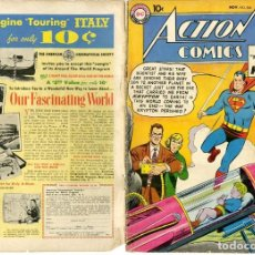 Cómics: (M1) ACTION COMICS NOV. N. 246, SUPERMAN DC NATIONAL COMICS, AÑO 1958. Lote 220250717