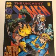 Cómics: THE UNCANNY X-MEN NR. 323/1995 MARVEL A NATION RISING. Lote 220306223