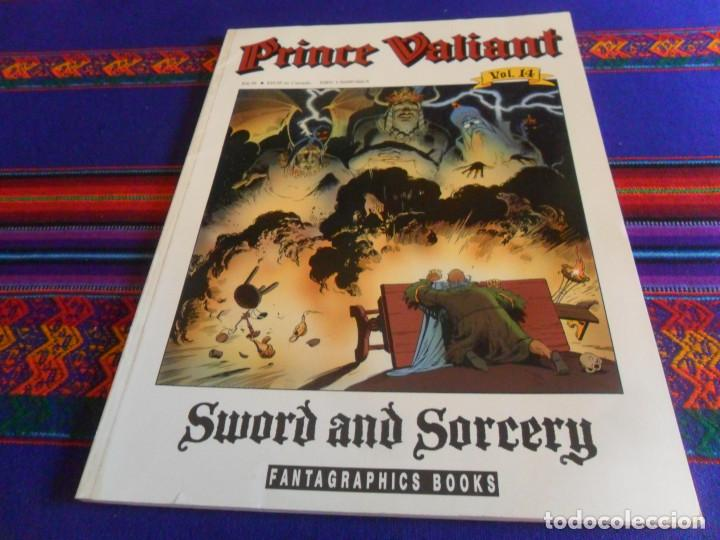 PRÍNCIPE VALIENTE PRINCE VALIANT VOL. 14 SWORD AND SORCERY. FANTAGRAPHICS BOOKS 1991. BE. (Tebeos y Comics - Comics Lengua Extranjera - Comics USA)