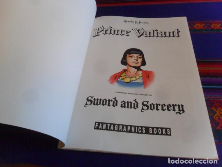 Cómics: PRÍNCIPE VALIENTE PRINCE VALIANT VOL. 14 SWORD AND SORCERY. FANTAGRAPHICS BOOKS 1991. BE. - Foto 2 - 220742277