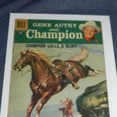 Cómics: (M9) GENE AUTRY AND CHAMPION VOL 1 NO 119 SEPT 1958 PUBLISHED QUARTELY BY DELL SEÑALES DE USO. Lote 221650453