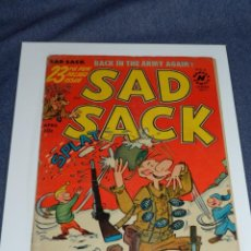 Cómics: (M9) SAD SACK APRIL 1953 VOL 1 NO 23 IS PUBLISHED EVERY OTHER MONTH CUBIERTAS CON ROTURITAS. Lote 221650890