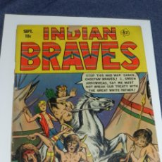 Cómics: (M9) INDIAN BRAVES COMICS IS PUBLISHED BI-MONTHLY BY USA COMIC MAGAZINE. NUM 4 OCT 1951. Lote 221651201
