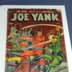 Cómics: (M9) JOE YANK COMICS IS PUBLISHED BI-MONTHLY BY USA COMIC MAGAZINE. NUM 9 OCT 1952. Lote 221651638