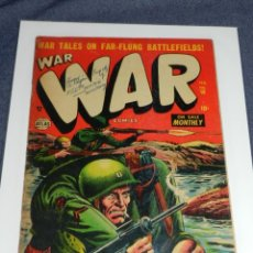 Cómics: (M9) WAR WAR COMICS IS PUBLISHED BI-MONTHLY BY USA COMIC MAGAZINE. VOL 1 NUM 16 OCT 1953. Lote 221652073