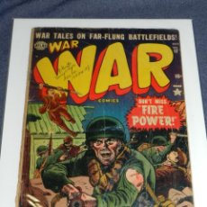 Cómics: (M9) WAR WAR COMICS IS PUBLISHED BI-MONTHLY BY USA COMIC MAGAZINE. VOL 1 NUM 12 OCT 1952. Lote 221652152