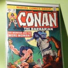 Cómics: MARVEL COMICS USA MARATÓN JOHN BUSCEMA CONAN 38. Lote 221711488
