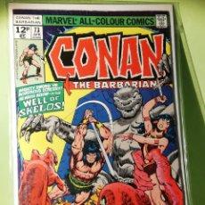 Cómics: MARVEL COMICS USA MARATÓN JOHN BUSCEMA CONAN 73. Lote 221727996
