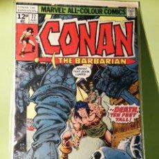 Cómics: MARVEL COMICS USA MARATÓN JOHN BUSCEMA CONAN 77. Lote 221728368
