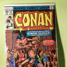 Cómics: MARVEL COMICS USA MARATÓN JOHN BUSCEMA CONAN 80. Lote 221728507