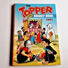 Cómics: 1981 ANNUAL TOPPER AND SPARKY BOOK - 20 X 28.CM APROX. Lote 221966451