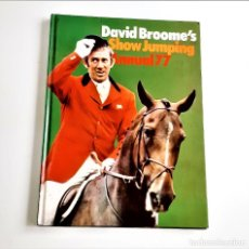 Cómics: 1977 ANNUAL DAVID BROOME'S SHOW JUMPING - 20 X 28.CM APROX. Lote 221967747