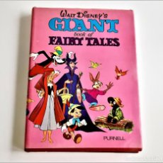 Cómics: 1973 ANNUAL WALT DISNEY'S GIANT BOOK OF FAIRY TALES - 22 X 30.CM APROX. Lote 221968228