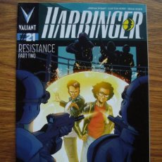 Cómics: HARBRINGER # 21 (VALIANT) RESISTANCE PART TWO. Lote 221991436