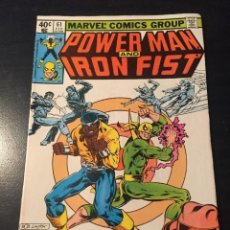 Cómics: US MARVEL: POWER MAN AND IRON FIST 61. CAGE. HEROES FOR HIRE. MARVEL COMICS. POWERMAN.. Lote 222011176