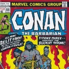 Cómics: CONAN THE BARBARIAN THE ORIGINAL MARVEL YEARS OMNIBUS 4 - MARVEL 2020 / HARDCOVER. Lote 222101061