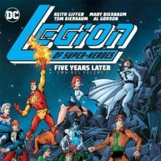 Cómics: LEGION OF SUPER-HEROES : FIVE YEARS LATER OMNIBUS - DC 2020 / HARDCOVER. Lote 222101327