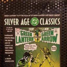 Cómics: COMIC - DC SILVER AGE CLASSICS: GREEN LANTERN 76 - ORIGINAL EN INGLES - DC COMICS - 1992. Lote 222161820