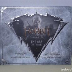 Cómics: LIBRO THE HOBBIT. THE BATTLE OF THE FIVE ARMIES CHRONICLES THE ART OF WAR. Lote 222170400