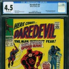 Cómics: DAREDEVIL# 27 CGC 4.5. Lote 222224350