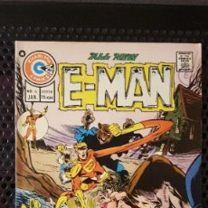 Cómics: COMICS - E-MAN - ORIGINAL EN INGLES - CHARLTON - 1973 - JOHN BYRNE - ROG 2000. Lote 222231785