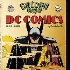 Cómics: THE GOLDEN AGE OF DC COMICS (INGLÉS) TASCHEN. Lote 222257093