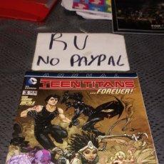 Cómics: DC COMICS TEEN TITANS 3 FOREVER EN INGLÉS. Lote 222382262