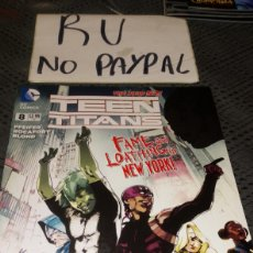 Cómics: DC COMICS TEEN TITANS 8 EN INGLÉS. Lote 222382873