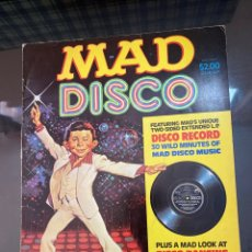 Cómics: 1980 MAD MAGAZINE MAD DISCO. Lote 222533883