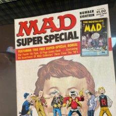 Cómics: MAD MAGAZIBE SÚPER SPECIAL NUMBER EIGHTEEN. Lote 222534155