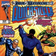 Cómics: QUICKSILVER #11, MARVEL, 1.998, USA. Lote 222680000