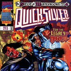 Cómics: QUICKSILVER #12, MARVEL, 1.998, USA. Lote 222680122