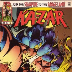 Cómics: KA-ZAR #2, MARVEL, 1.997, USA. Lote 222680332