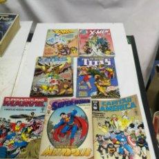 Cómics: 7 COMICS EDITORIAL ABRIL BRASIL SUPER-HOMEM-CAPITAO AMERICA-TITAS-X MEN-SUPERAVENTURAS MARVEL 1991. Lote 222856737