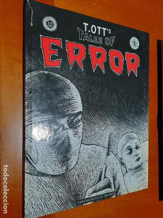 TALES OF ERROR. TOTT. EN INGLÉS. TAPA DURA. TIENE UN CORTE EN LOMO PARTE ARRIBA. DIFICIL (Tebeos y Comics - Comics Lengua Extranjera - Comics USA)