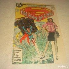 Cómics: SUPERMAN , THE MAN OF STEEL 2 . DC. Lote 224040531