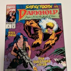 Comics: DARKHOLD #4 JANUARY 1993 MARVEL COMICS PAGES FROM THE BOOK OF SINS. Lote 224073058